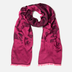 McQ Alexander McQueen Women's Swallow Scarf - Iconic Pink/Black