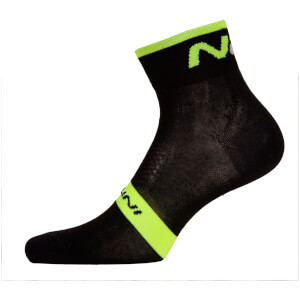 Nalini NA Socks H12 - Black/Fluo