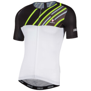 Nalini Roma Race Short Sleeve Jersey - White/Black