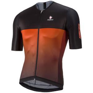 Nalini Black Ti Short Sleeve Jersey - Red/Black