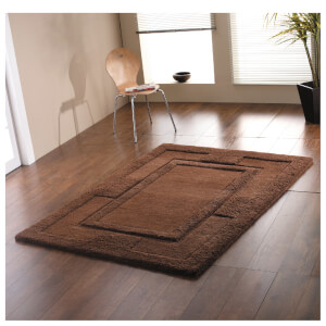 Flair Sierra Apollo Rug - Chocolate