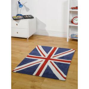 Tapis Flair Kiddy Play Rugs - Union Jack, Drapeau Royaume-Uni (70X100)