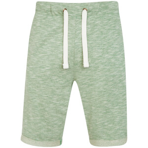 Tokyo Laundry Men's Gathorne Textured Jog Shorts - Green