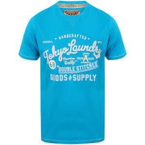 T-Shirt Homme Bailey Springs Tokyo Laundry -Turquoise
