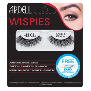 Pestanas Falsas Double Up Demi Wispies da Ardell - Black