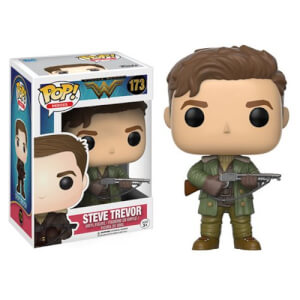 DC Wonder Woman Steve Trevor Pop! Vinyl Figur