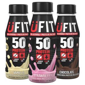 UFIT 50 High Protein Milkshake 500ml