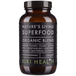 Suplemento Alimentar Biológico Nature's Living Superfood da KIKI Health 150 g