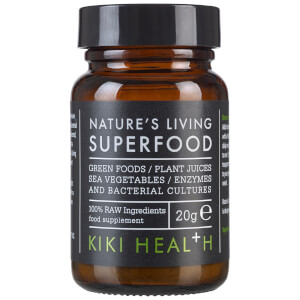 Suplemento Alimentar Biológico Nature's Living Superfood da KIKI Health 20 g