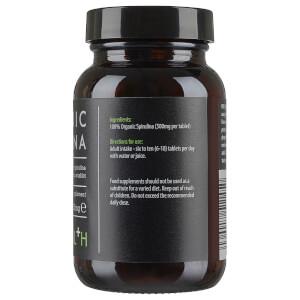 KIKI Health Organic Spirulina Tablets (200 Tablets): Image 3