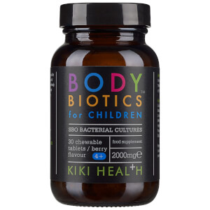 KIKI Health Body Biotics Chewable Tablets for Children suplement diety dla dzieci (30 kapsułek)
