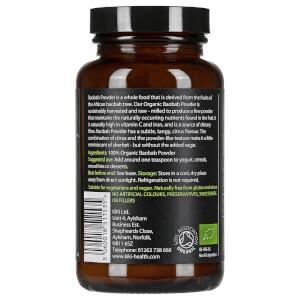 KIKI Health Organic Baobab Powder 100g: Image 2
