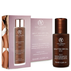 Vita Liberata Self Tan Dry Oil SPF 50 10ml (Free Gift)