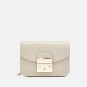 Furla Women's Metropolis Mini Cross Body Bag - Cream