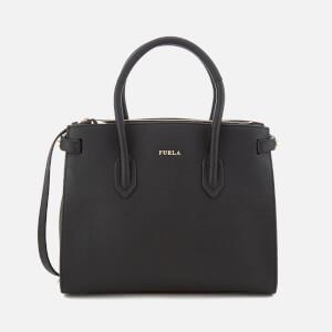 Furla Women's Pin Small East West Tote Bag - Black