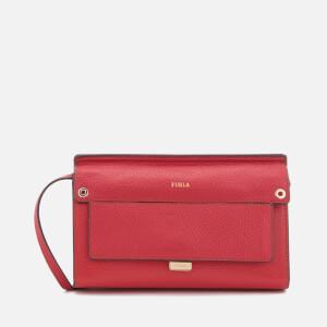 Furla Women's Like Mini Cross Body Bag - Ruby