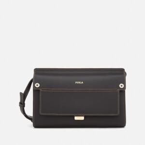 Furla Women's Like Mini Cross Body Bag - Black