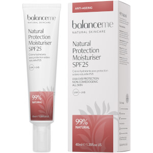 Creme Hidratante Diário com FPS 25 Natural Protection da Balance Me 40 ml