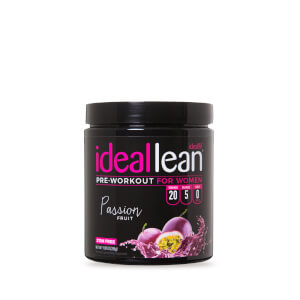 IdealLean Stim Free Pre-Workout - Passion Fruit - 20 Servings