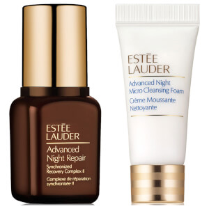 Estée Lauder Advanced Night Repair Synchronized Recovery Complex II & Micro Cleansing Foam (Free Gift)