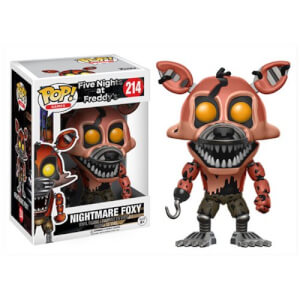 Five Nights at Freddy's Nightmare Foxy Pop! Vinyl Figure