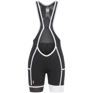 Look Women's Elle Radiance Bib Shorts - Black/White