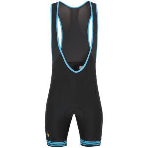 Look [LM]MENT Bib Shorts - Black/Blue
