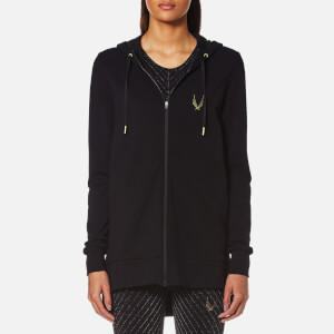 Lucas Hugh Women's Halo Hooded Sweatshirt - Black