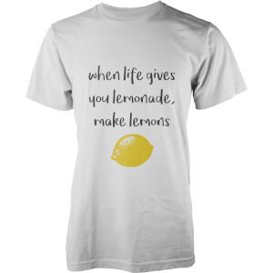 Lemons T-Shirt - White
