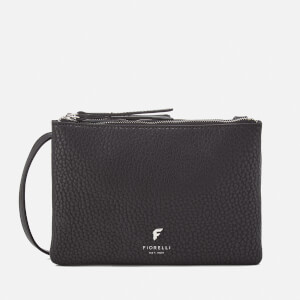 Fiorelli Women's Bunton Double Compartment Cross Body Bag - Black Casual Mix