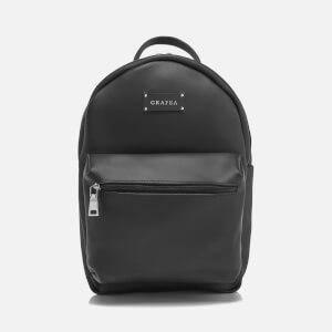 Grafea Zipper Backpack - Black