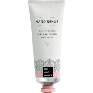 The Hero Project Hand Rehab Diamond Dusted Hand & Nail Therapy with SPF 20 75ml
