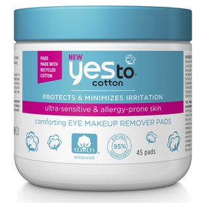 yes to Cotton Eye Makeup Remover Pads (45er-Packung)
