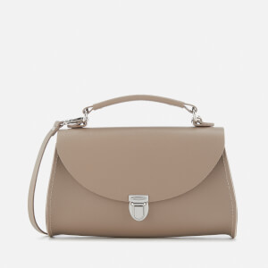 The Cambridge Satchel Company Women's Mini Poppy Bag - Putty Saffiano