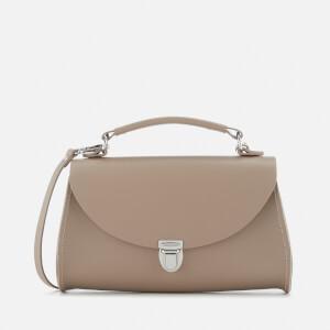 The Cambridge Satchel Company Women's Mini Poppy Bag - Putty Saffiano