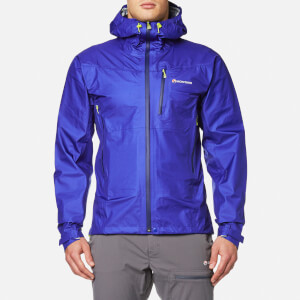 Montane Men's Air Jacket - Deep Abyss/Laser Green