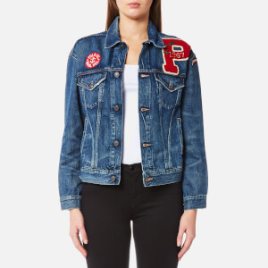 Ralph Lauren Women's Denim Trucker Jacket - Medium Indigo
