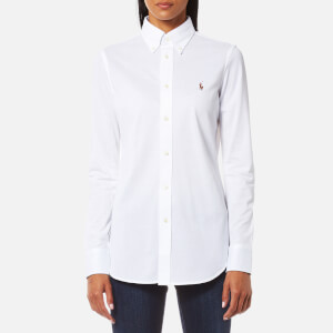 Polo Ralph Lauren Women's Heidi Skinny Fit Stretch Shirt - White