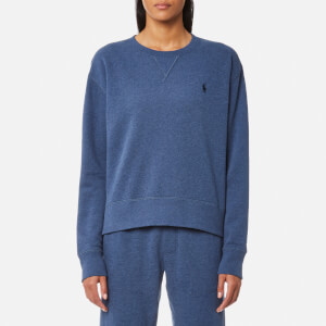 Ralph Lauren Women's Crew Neck Sweatshirt - Shale Blue Heather