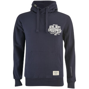 Crosshatch Men's Sparrow Back Print Hoody - Night Sky
