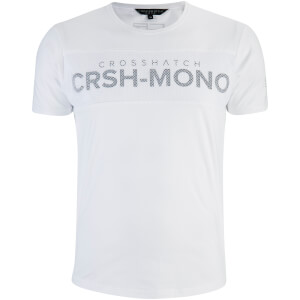 Crosshatch Men's Maffle T-Shirt - White