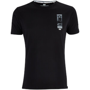Crosshatch Men's Markab T-Shirt - Black