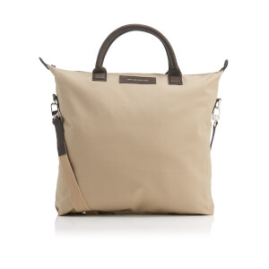 WANT Les Essentiels de la Vie Men's OHare Shopper Tote Bag - Sand/Mahogany