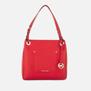 MICHAEL MICHAEL KORS Women's Walsh Medium Shoulder Tote Bag - Bright Red