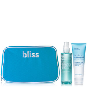 bliss Fabulous Make Up Cleanser Toner Duo (Worth £45.00)