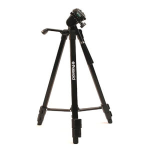 Polaroid 50 Inch Tripod (With Free Carry Case) - Black