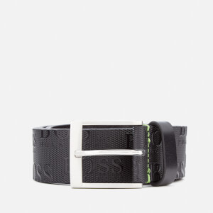 BOSS Green Men's Torialo Belt - Black