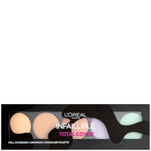 Палетка консилеров L'Oreal Paris Infallible Total Cover Concealer Palette
