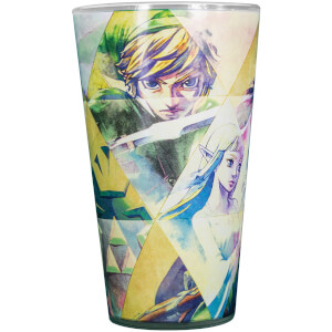 The Legend of Zelda Hyrule Colour Changing Glass - Multi