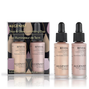 ALGENIST Drop and Glow Luminising Duo 7ml